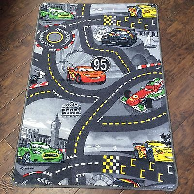 Disney Pixar Cars Kids Children's Play Mat Race Car Rug Runner Non Slip 80x120cm