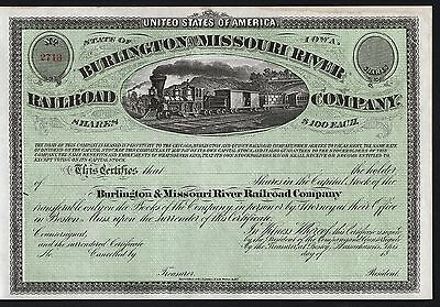18__ Iowa: Burlington and Missouri River Railroad Company