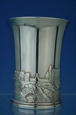 STERLING SILVER GOLF ST. ANDREWS 'THE OLD COURSE' & CATHEDRAL CUP 2000  407g