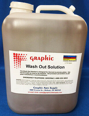 Azura Amigo N92 Vcf Dot Works Thermal Green Wash Out Gum Solution 5 Gallons
