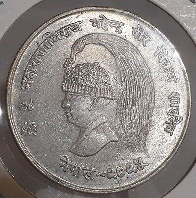 1968 10 Rupee. Nice Silver Collector Coin For Your Collection Or Set.