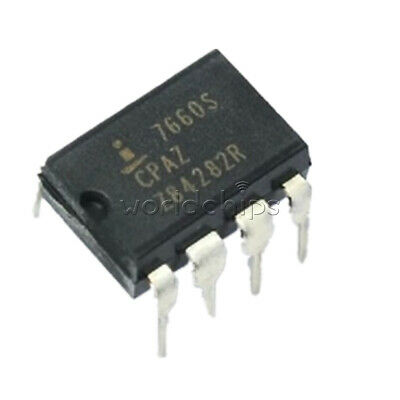 10PCS DIP-8 ICL7660SCPAZ ICL7660S CMOS Voltage Converter IC INTERSIL