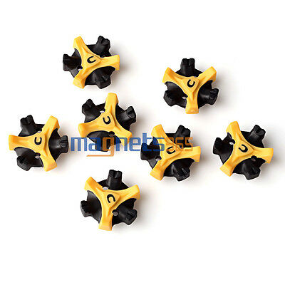 New 14 Pcs Golf Shoe Spikes Replacement Champ Cleat Screw Fast Foot For Joy
