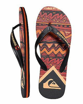 NEW QUIKSILVER™  Mens Molokai New Wave Art Thongs Flip Flops Slippers