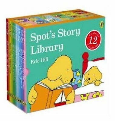 SPOT's Story Library 12 Story Books Set Collection Boxset Eric Hill New