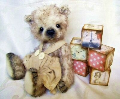 Mohair Bear Sewing Kit 8.5 inch Incl. Ready Made Shorts