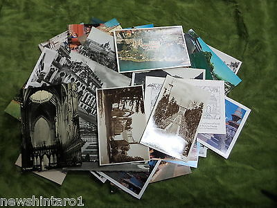 #AA8. ABOUT 180 UNUSED HOLIDAY POSTCARDS, 1930s to 1970s