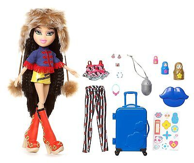 Bratz Study Abroad Jade to Russia Doll Culture's Traditional Fashion Dolly Toy