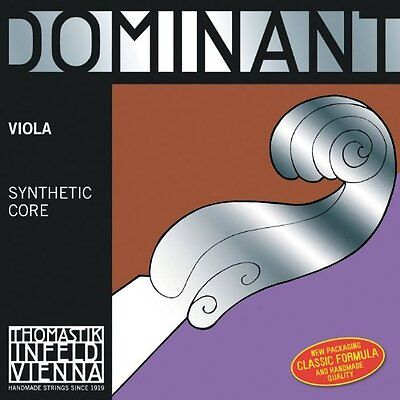 Thomastik-Infeld 4123 Dominant, Viola Strings, Complete Set, 15.5-Inch