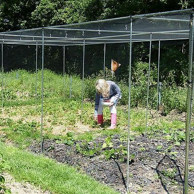 Large Walk In Vegetable Fruit Cage 2m High Lots Sizes Available Aluminium Frame
