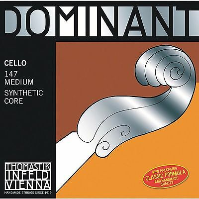 Thomastik Dominant Cello Strings 4/4 Set 147