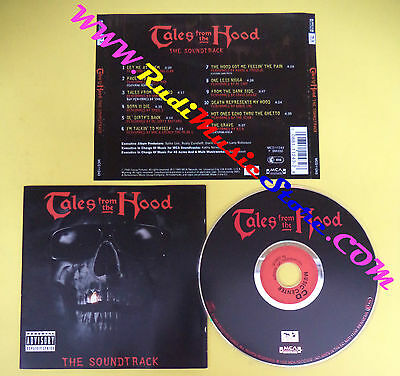 CD SOUNDTRACK Tales From The Hood MCD 11243 WU TANG OL'DIRTY no lp dvd vhs(OST3)