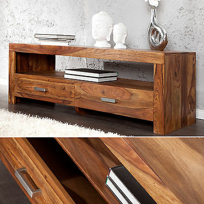 massives baumstamm tv board elements 145cm sheesham lowboard schrank board eur 459 95. Black Bedroom Furniture Sets. Home Design Ideas