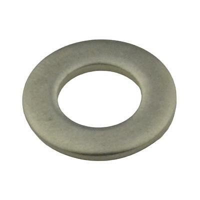 Qty 100 Flat Washer M8 (8mm) x 16mm x 1.6mm Metric DIN125 Stainless Steel 304 A2