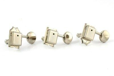 NEW Gotoh SD91 6-In-Line Tuning Keys, Staggered Height Posts - NICKEL