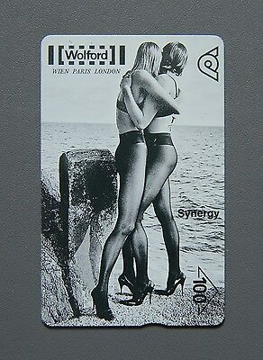 Helmut Newton for Wolford Fotografie Photography TWK Telefonwertkarte Phone Card