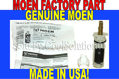 *NEW! GENUINE MOEN 1222 POSI-TEMP 1222B Factory Cartridge MADE IN USA-Bag Style