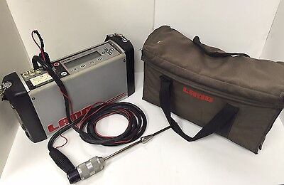 Lancom III portable combustion analyzer 6 Gases