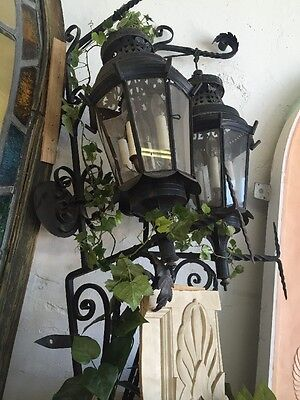 1920's Spanish Revival Exterior Lights