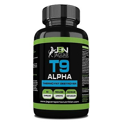 T9 Alpha Extreme Fat Burner Capsules; Strongest Legal Slimming/Weight Loss Pills