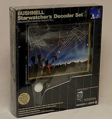 Bausch  Lomb Bushnell Starwatchers Decoder Set Astronomy Educational Toy New