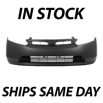 NEW Primered - Front Bumper Cover Fascia For 2007 2008 Honda Civic Sedan 2.0L