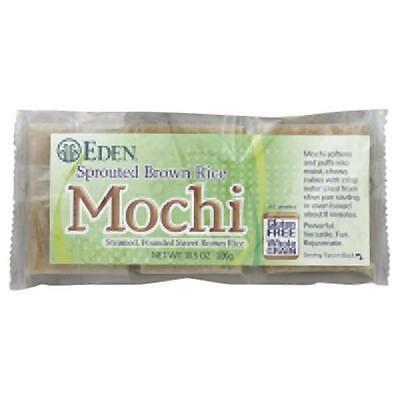Eden Foods Sprouted Brown Rice Mochi 10.5 Oz