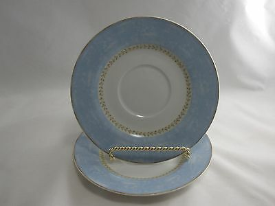 Heritage Mint 2 Enchanted Garden Saucer Plates only