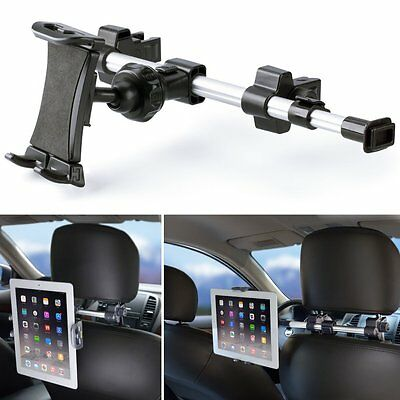 iKross Extension 360 Degrees Rotation Car Mount Tablet Backseat Headrest Mount H