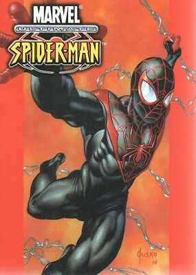 2016 Marvel Masterpieces Jusko What If #1 Ultimate Spider-Man /1499