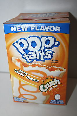 USA Kellogg's Pop Tarts Frosted CRUSH ORANGE (8 toaster pastries)