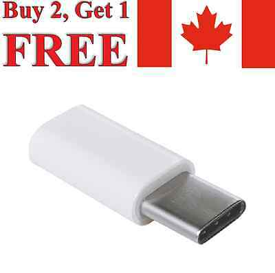 Micro USB to USB Type-C Adapter For Samsung A20 / A50 / A70 LG G6 G7 G8 Pixel 3