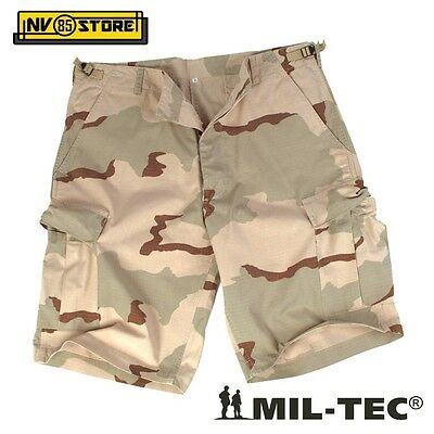 Bermuda Pantaloni Miltec Bdu Ripstop Shorts Cargo Tasconi Softair Survivor Ds