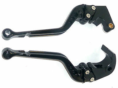 HONDA CBR1000RR 2008-2016 long BRAKE AND CLUTCH LEVER SET RACE TRACK S2ZG