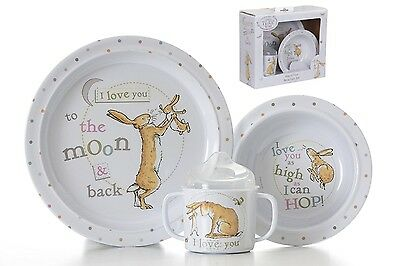 Guess How Much I Love You Breakfast Set  (Plate, Bowl, Cup)