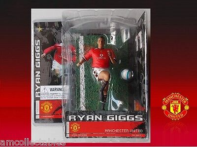 Manchester United - Ryan Giggs - Stars Of Sports Action Figure - Nip