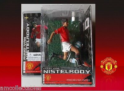 Manchester United - Ruud Van Nistelrooy - Stars Of Sports Action Figure - Nip