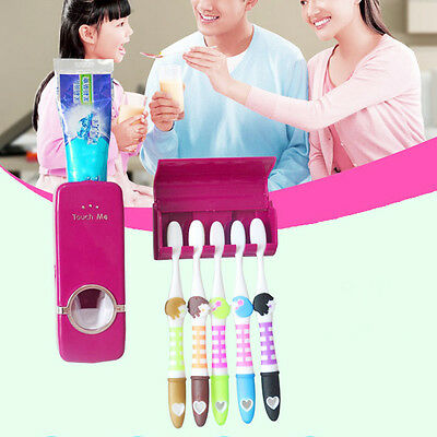 Creative Toothbrush Holder Sets Automatic Toothpaste Dispenser