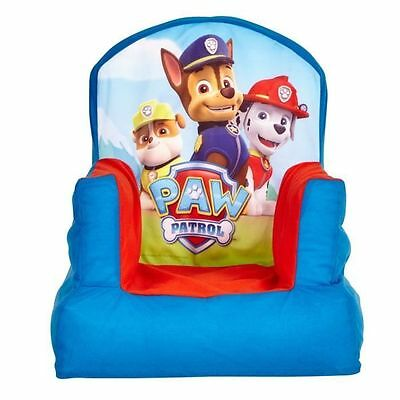 PAT PATROUILLE Chaise Gonflable Paw Patrol [Azul] - Ce fauteuil NEUF