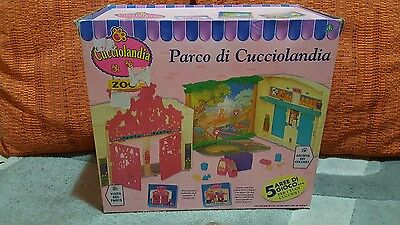 Parco Cucciolandia giochi preziosi zoo vintage kenner littles pet shop new