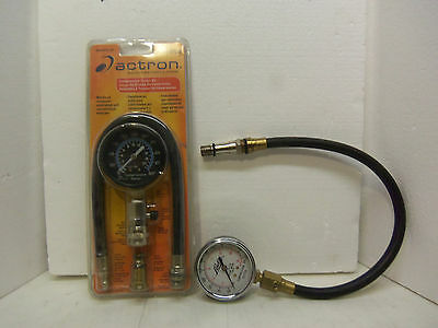Actron Compression Tester Kit CP7827 & Lisle Tester 20250 - Both Good Working -