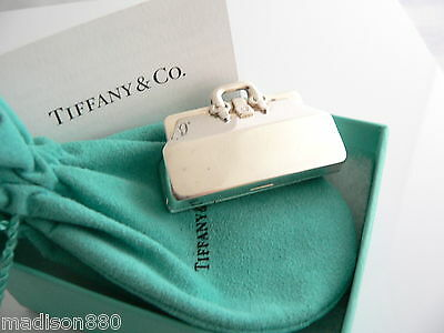 Tiffany & Co Sterling Silver Doctor Medical Bag Pill Box Case Rare