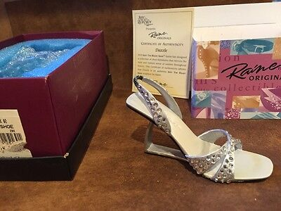 Just The Right Shoe by Raine 2002 Dazzle #25169 Willitts NIB COA (SH1)