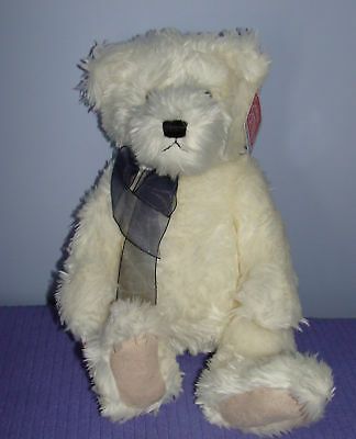"""Gund Bear August 15376 Vhtf New With Tags 14"""" Tall"""