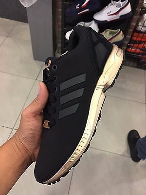 Adidas ZX Flux Black Copper S78977 Women Sizes
