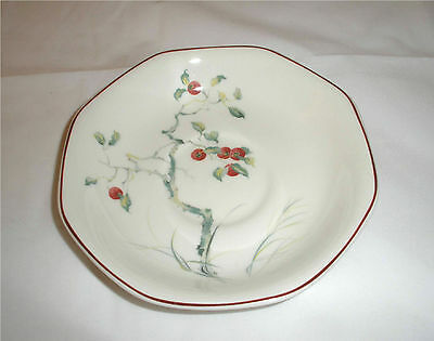 Adams Persimmon  Saucer Plates   saucers only set of 2
