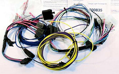 73-83 Chevy Truck Aftermarket Autometer Electric Gauge Wire Harness