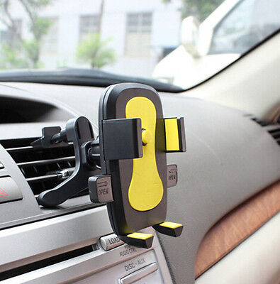 Car Air Vent for iPhone Mount Cradle Holder Stand Cellphone Samsung Mobile Phone
