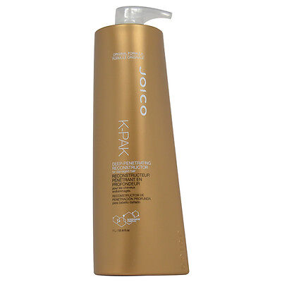 K-Pak Reconstruct Deep Penetrating Reconstructor by Joico for Unisex - 33.8 oz R