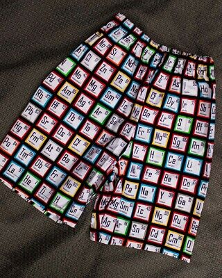 Elemental Shorts Boys Kids Geeky Retro Rockabilly Cute Cool Colourful Cotton Fun